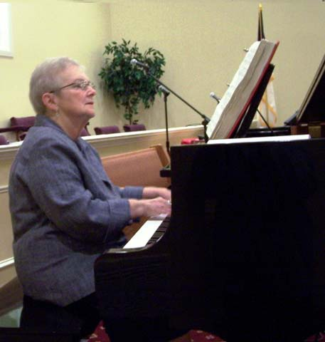Martha Baldridge, Pianist